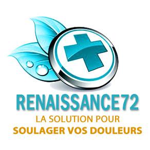 logo Renaissance 72 - La solution pour soulager vos douleurs